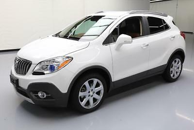 2016 Buick Encore Leather Sport Utility 4-Door 2016 BUICK ENCORE LEATHER HTD SEATS REAR CAM 9K MILES #732023 Texas Direct Auto