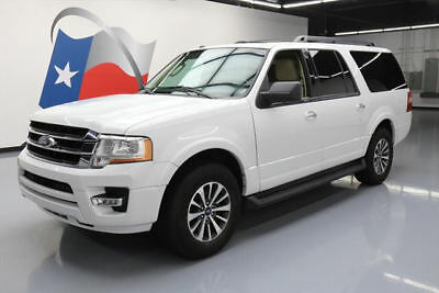 2016 Ford Expedition  2016 FORD EXPEDITION EL XLT ECOBOOST 8-PASS SUNROOF 45K #F23017 Texas Direct