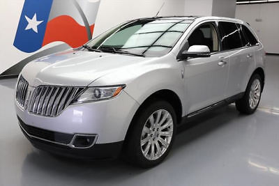 2015 Lincoln MKS Base Sport Utility 4-Door 2015 LINCOLN MKS ELITE PANO ROOF NAV REAR CAM 20'S 38K #L23981 Texas Direct Auto