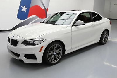 2015 BMW 2-Series Base Coupe 2-Door 2015 BMW M235I XDRIVE COUPE AWD HTD LEATHER SUNROOF 21K #371343 Texas Direct