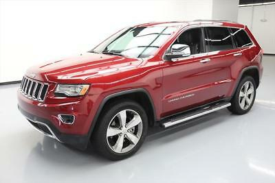 2014 Jeep Grand Cherokee Limited Sport Utility 4-Door 2014 JEEP GRAND CHEROKEE LTD 4X4 ECO DIESEL SUNROOF 20K #319919 Texas Direct