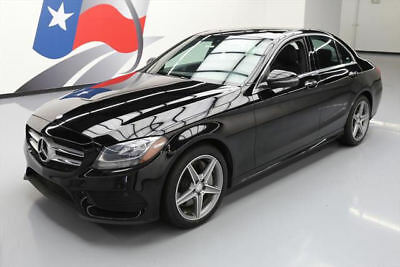 2016 Mercedes-Benz C-Class  2016 MERCEDES-BENZ C300 SPORT 4MATIC AWD PANO NAV 32K #114549 Texas Direct Auto