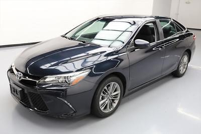 2016 Toyota Camry  2016 TOYOTA CAMRY SE AUTO BLUETOOTH REAR CAM ALLOYS 40K #524889 Texas Direct