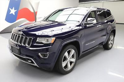 2014 Jeep Grand Cherokee Overland Sport Utility 4-Door 2014 JEEP GRAND CHEROKEE OVERLAND PANO SUNROOF NAV 31K #529386 Texas Direct Auto