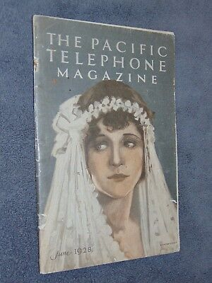 Vintage June 1928 Pacific Telephone Magazine
