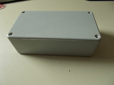 Plastic Housing, Grau, 11 x 4,5 x 6,2 cm, für Electric Component Pieces, #k-11-5