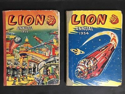 Lion Annual Lot Of 2 1954, 1955