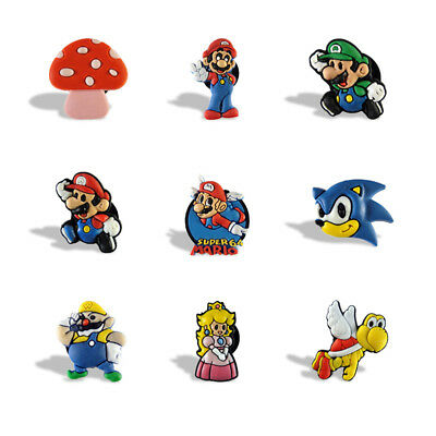 2pcs/set Super Mario Fridge Blackboard Magnets Refrigerator Stickers Xmas Gift