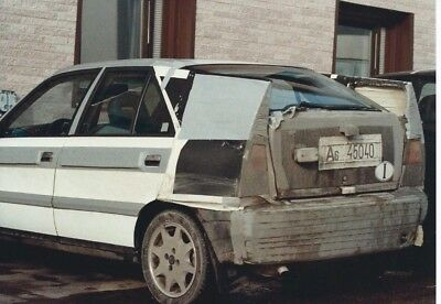 Lancia Delta II Prototipi 1992 in Disguise Camouflage Photograph Rear Side View