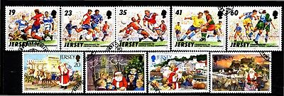 Jersey 2 X Sets Commemoratives (35) Used