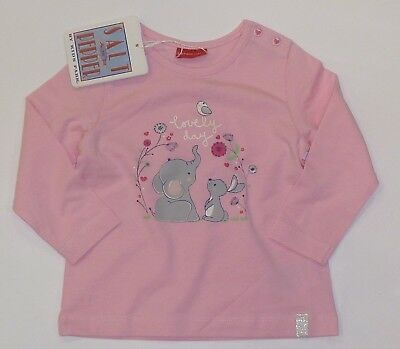 Salt and Pepper Baby Mädchen Langarmshirt Longsleeves 74  Neu