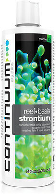 STRONTIUM ADDITIVE FOR MARINE & REEF TANKS 250 ml (High Purity)