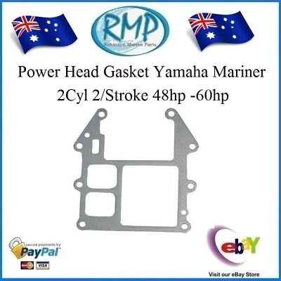 A Brand New Power Head Gasket Yamaha Mariner 2Cyl 48hp -60hp # R 663-45113-00