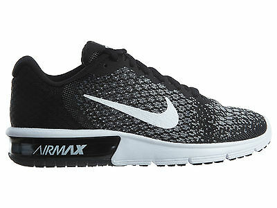 Nike Air Max Sequent 2 Women's Running Shoes Size 8 Gray 852465 007
