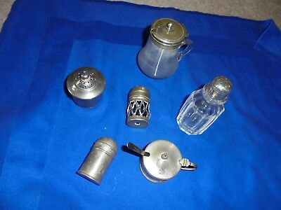 LOVELY VINTAGE collection of  PEPPER POTS