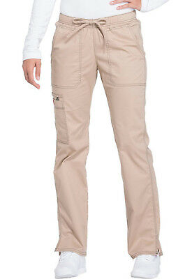 Khaki Dickies Scrubs Gen Flex Low Rise Drawstring Pants DK100 KHIZ