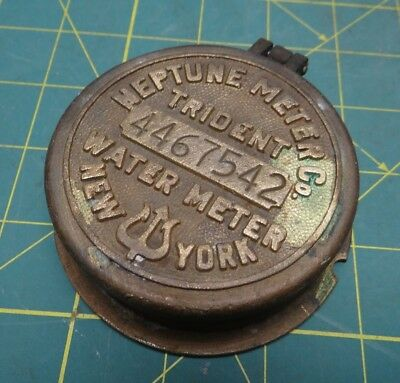 Neptune Meter Co. New York Trident Water Meter Cover 4467542