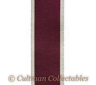 229a. Army Long Service & Good Conduct Medal Ribbon (Post 1917) – Full Size