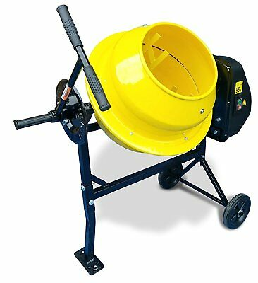 Cement Mixer 46L. Megamix CM46 DIY Electric for Concrete, Mortar and Plaster