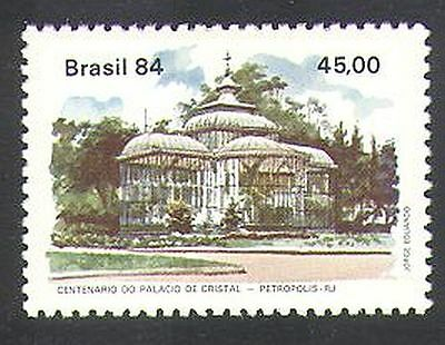 Brazil 1984 Crystal Palace/Palm Trees/Nature/Buildings/Architecture 1v (n38130)