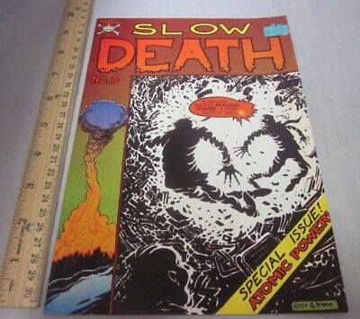 Slow Death #9 Last Gasp GREG IRONS Tim Boxell Danger Of Nuclear Power 1978