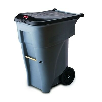 Rubbermaid FG9W2100GRAY BRUTE Rollout Container