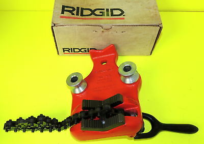 "Ridgid 40180 Model BC4A Bottom Screw Bench Chain Vise, 1/8 - 4"" Pipe NEW in Box"
