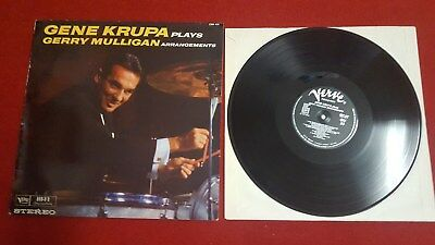 LP Gene Krupa  ‎– Gene Krupa Plays Gerry Mulligan Arrangements! VERVE! BIG BAND!