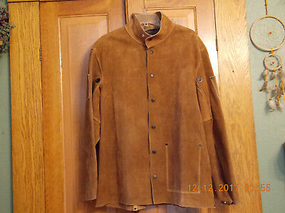 Steiner Suede / Leather Welding Jacket/coat Size Large (New)