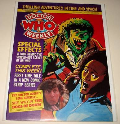 DOCTOR WHO Weekly MAGAZINE # 30  May 1980  FN Tom Baker