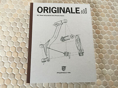 Porsche Classic 356 911 964 993 996 944 928 Restoration Parts Hb Brochure 2017