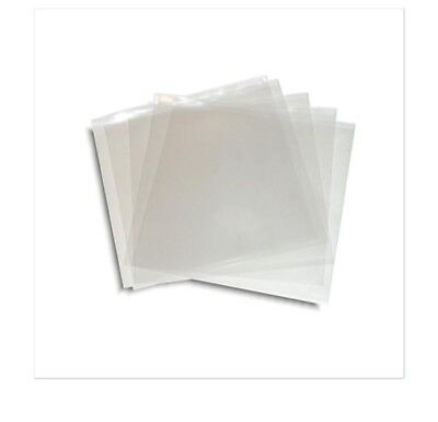 25 CPP Clear Poly Plastic CD Sleeve ** No Flap 5 x 5.25 XMAS STOCKING STUFFER
