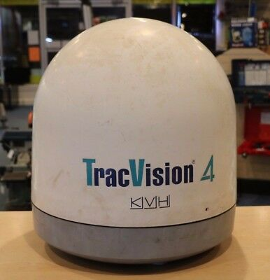 KVH TracVision 4 Satellite Antenna Untested NO RESERVE AUCTION