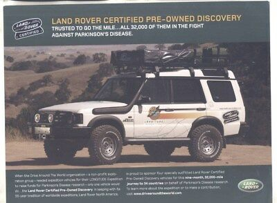 2003 Land Rover Longitude Expedition Drive Around World Edition Brochure wy8852