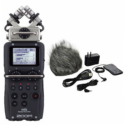 Zoom H5 Handy Portable Recorder with APH5 Accessories Kit