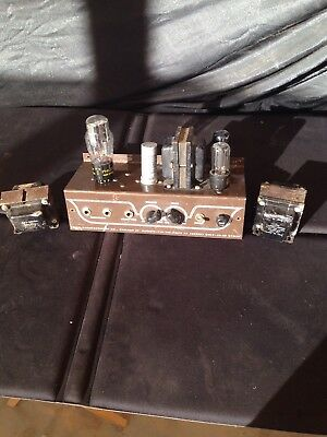 Valco vintage tube amplifier  And 2 Tranformers (for parts or display only)