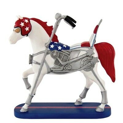 Enesco Trail Of Painted Ponies Happy Trails Resin Figurine - Ez Rider New 27287