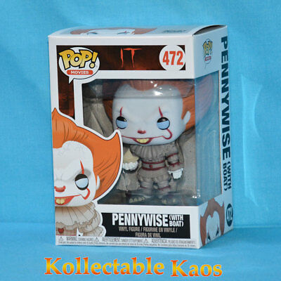 IT (2017) - Pennywise Pop! with boat - 2nd Release(Blue Eyes) + PROTECTOR
