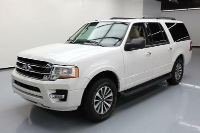 2017 Ford Expedition EL King Ranch Sport Utility 4-Door 2017 FORD EXPEDITION XLT EL ECOBOOST 8-PASS SUNROOF 36K #A19230 Texas Direct
