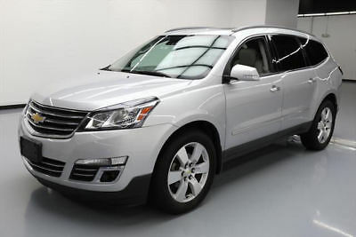 2014 Chevrolet Traverse LTZ Sport Utility 4-Door 2014 CHEVY TRAVERSE LTZ AWD 7-PASS DUAL SUNROOF DVD 76K #349548 Texas Direct