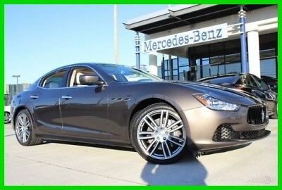 2015 Maserati Ghibli S Q4 2015 S Q4 Used Certified Turbo 3L V6 24V Automatic AWD 100K Mile Warranty