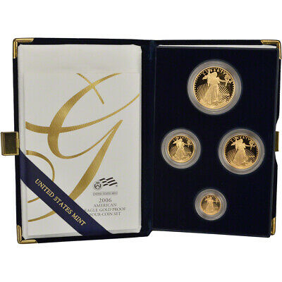 2006 American Gold Eagle Proof Four-Coin Set
