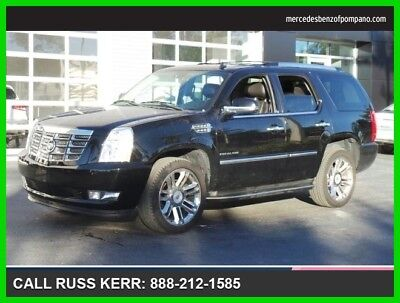 2012 Cadillac Escalade Base Sport Utility 4-Door 2012 Used 6.2L V8 16V Automatic Rear Wheel Drive SUV OnStar Bose