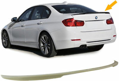 Rear Abs Plastic Boot Spoiler For Bmw F30 2011 Saloon Series 3  New