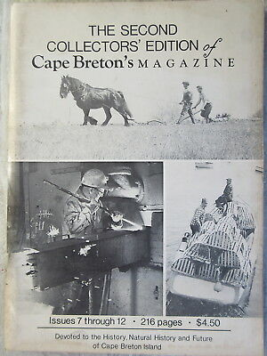 2nd Collector's Edition Cape Breton's Magazine Issues 7 thru 12
