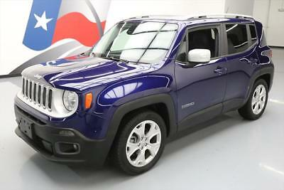2016 Jeep Renegade Limited Sport Utility 4-Door 2016 JEEP RENEGADE LIMITED HTD LEATHER NAVIGATION 26K #C54358 Texas Direct Auto