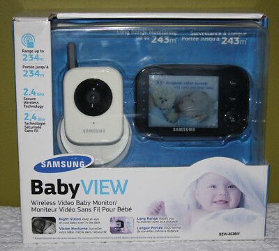 Samsung Baby View Wireless Video Baby Monitor