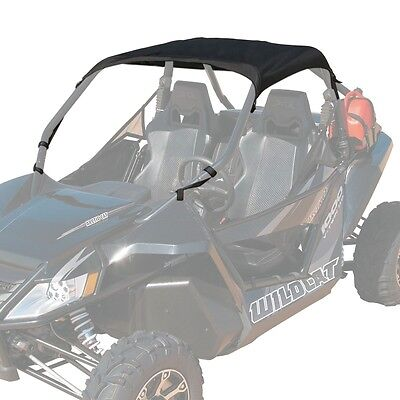 Arctic Cat 2012-2016 Wildcat 1000 Bimini Soft Top Roof Canopy Black - 1436-731