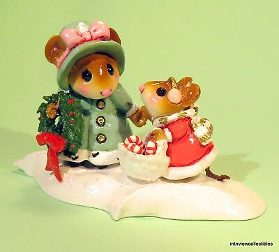 Wee Forest Folk M-497 Come Along-It's Christmas!