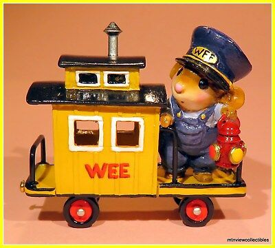 Wee Forest Folk M-453e Caboose -Retired